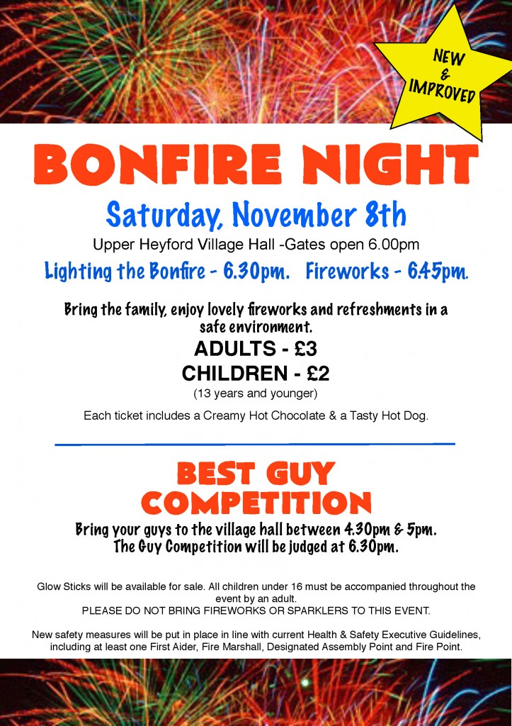 UH Bonfire Night 2014