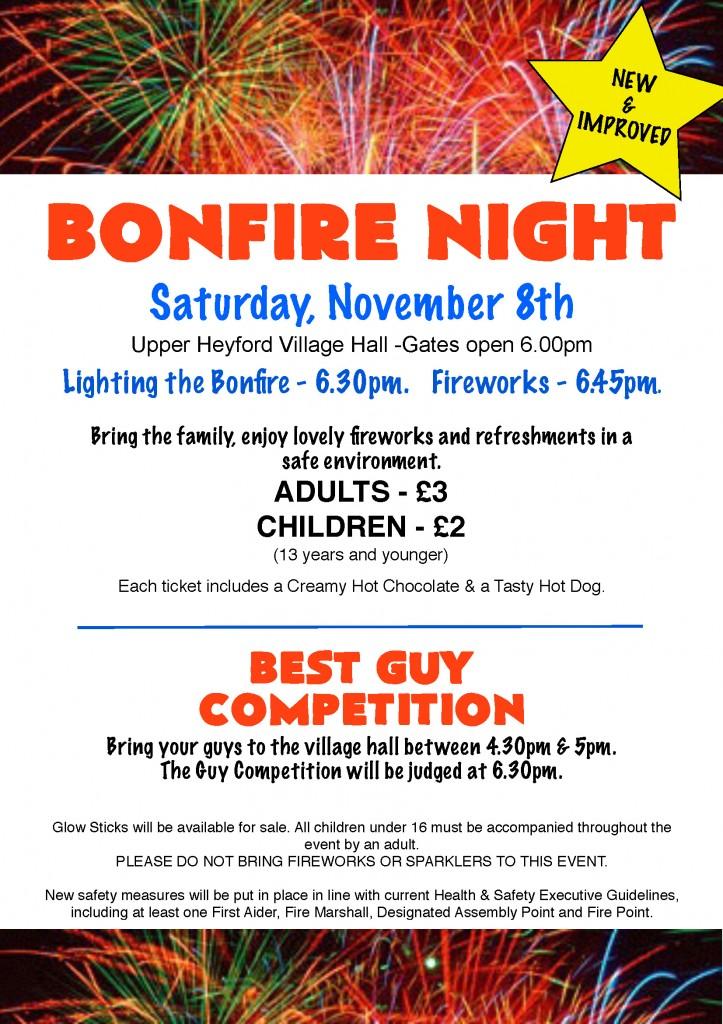 UH Bonfire Night 2014